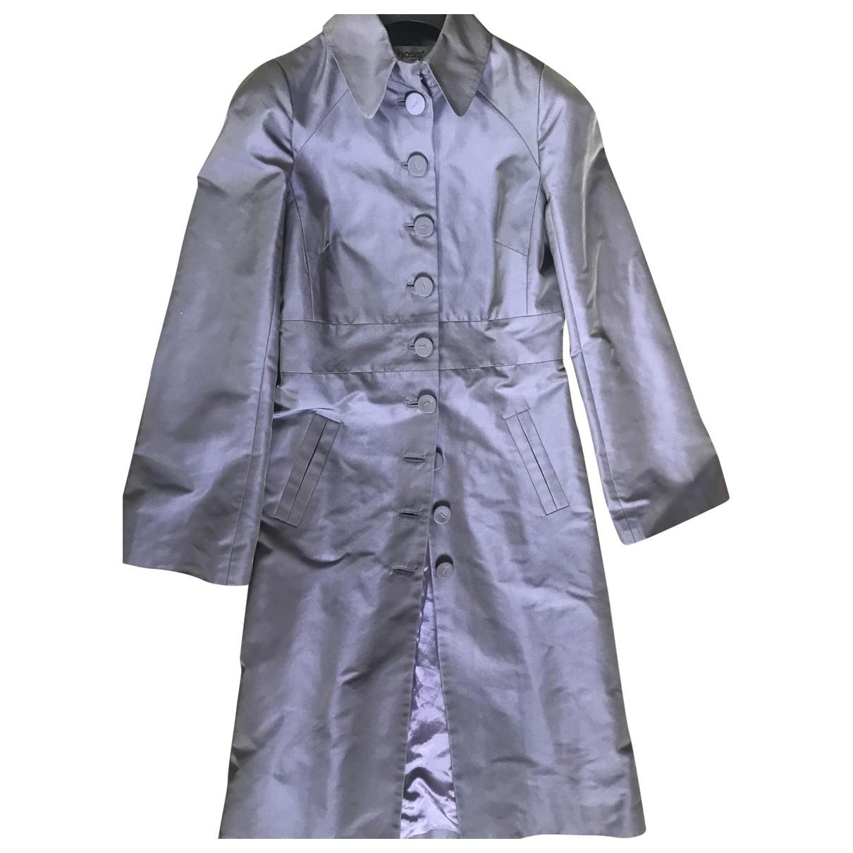 Hoss Intropia \N Purple coat for Women 42 IT
