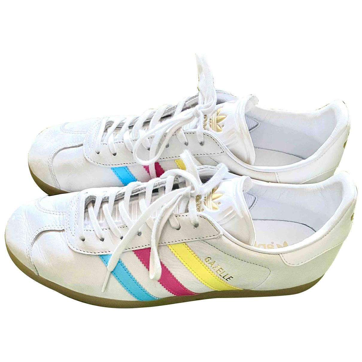 Adidas - Baskets Gazelle pour homme en suede - blanc