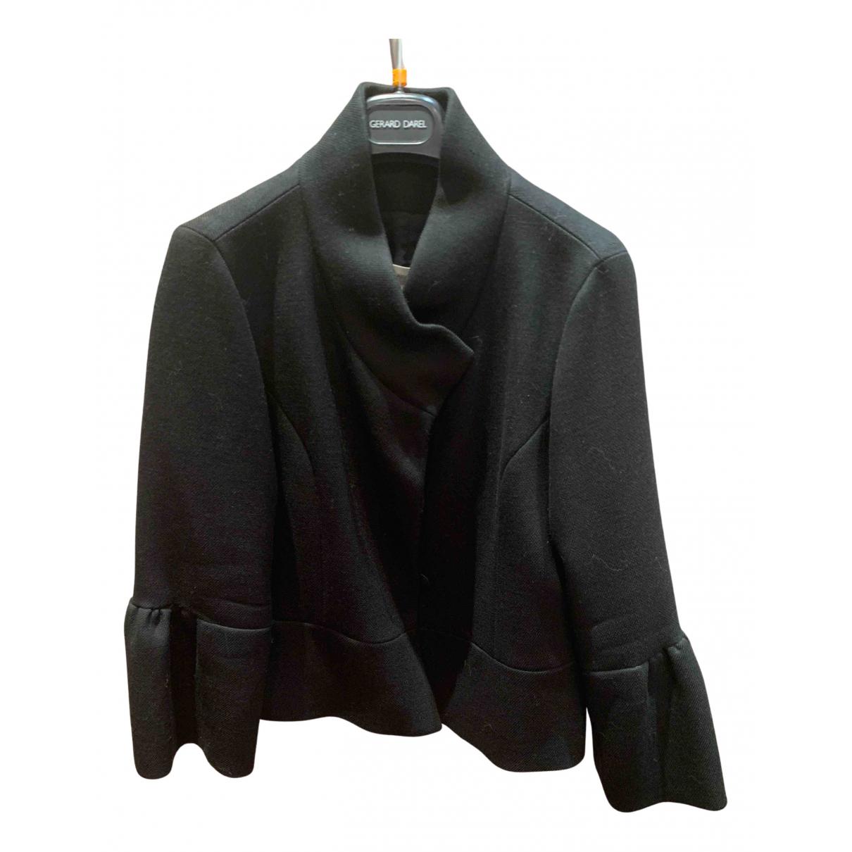 Gerard Darel - Veste   pour femme en laine - noir