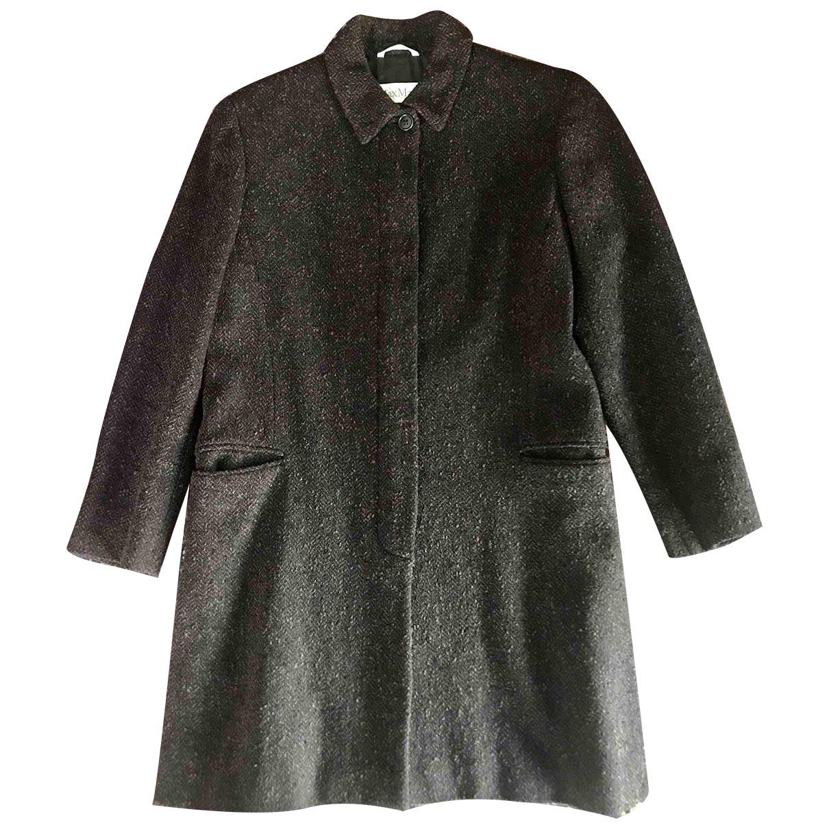 Max Mara \N Brown Wool coat for Women 46 IT