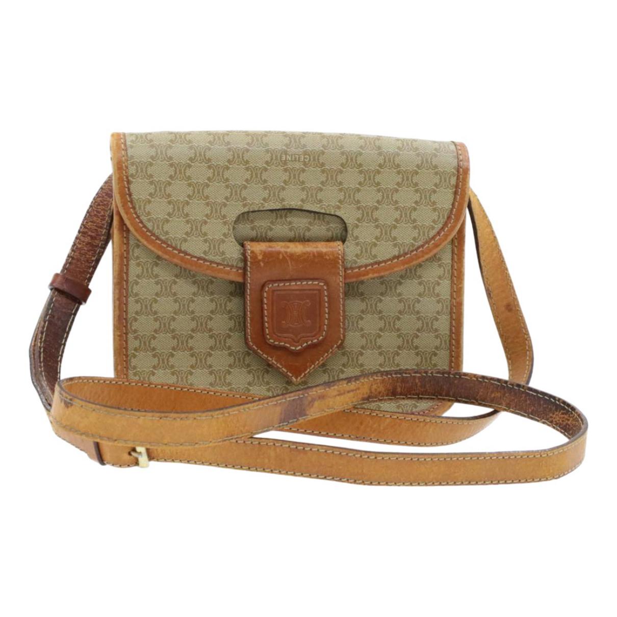 Celine \N Handtasche in  Beige Leinen