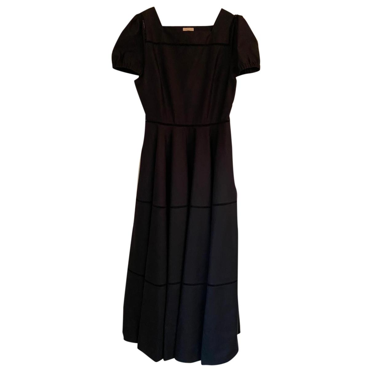 Alaïa \N Black Cotton dress for Women 42 IT