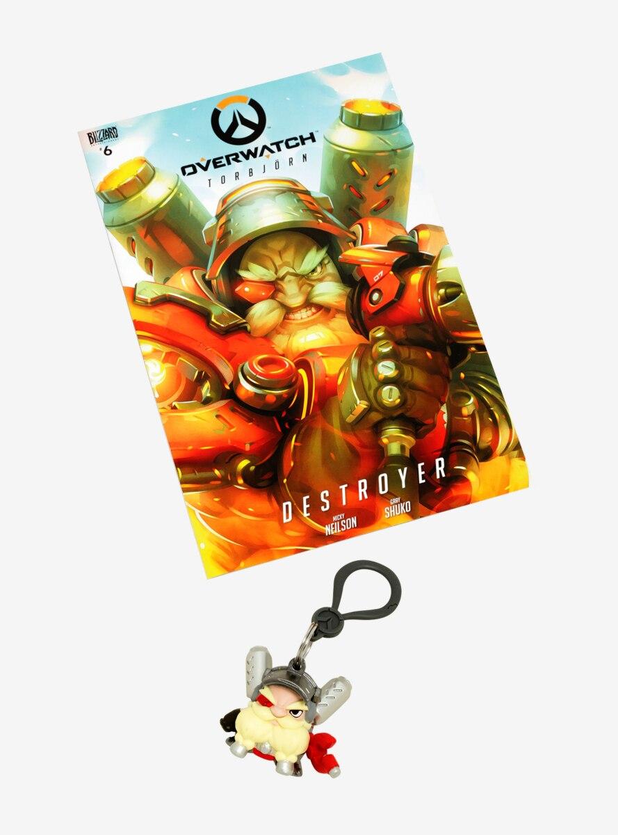Overwatch Torbjorn Comic & Key Chain