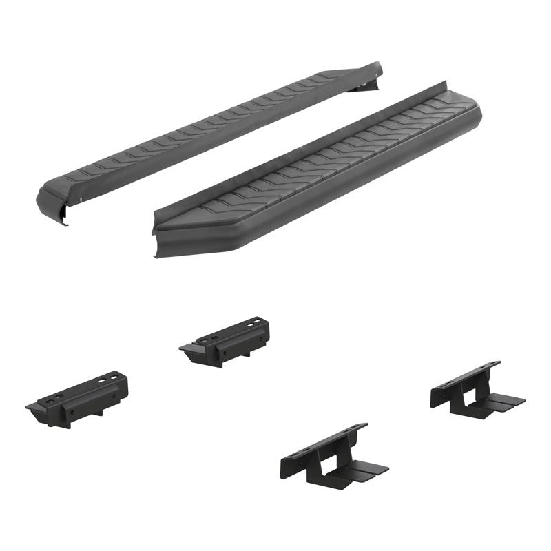 Aries 2061010 Aluminum Carbide Black Powder Coat AeroTread 5