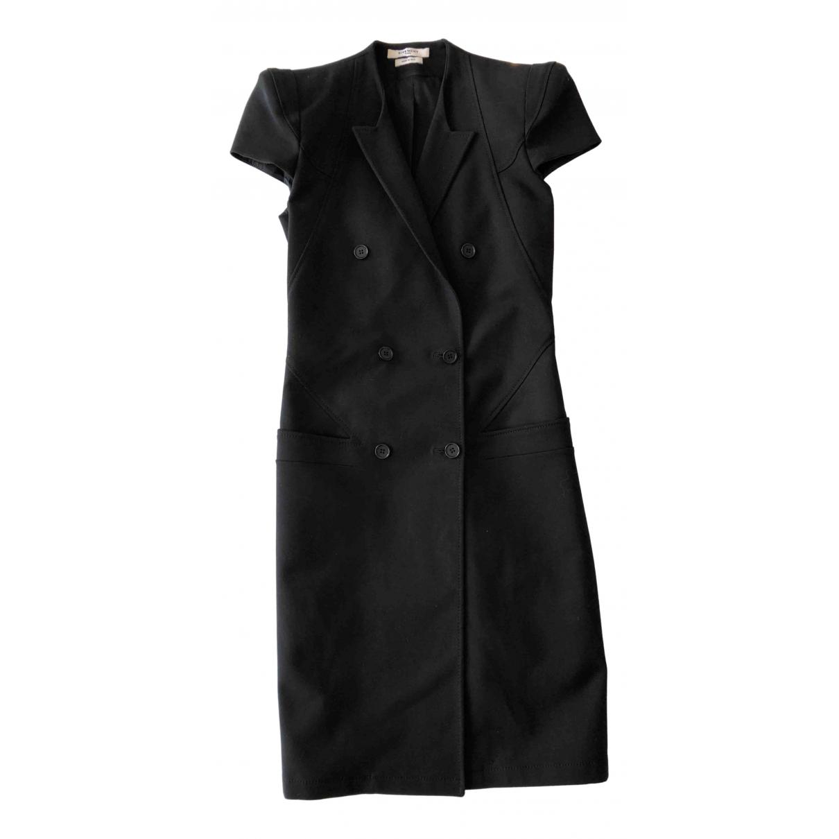 Givenchy \N Kleid in  Schwarz Baumwolle