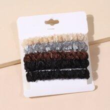 5 Stuecke Buntes Haarband
