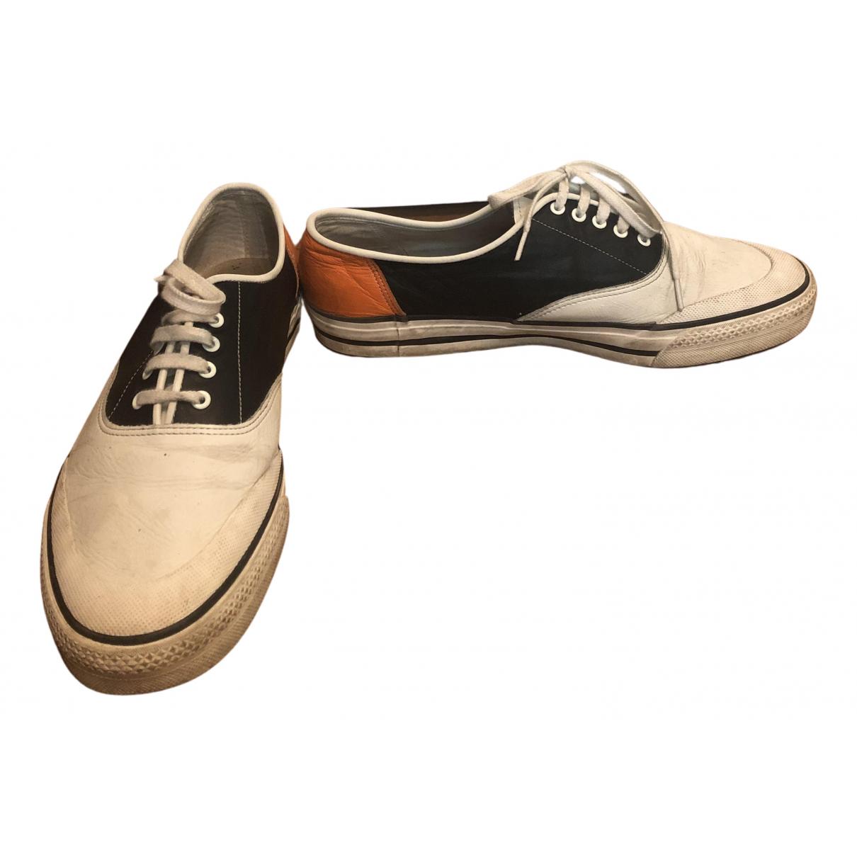 Comme Des Garcons \N Sneakers in  Weiss Leder