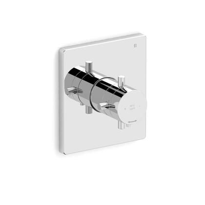 Pallace TPATQ45C 3-Way Thermostatic/Pressure Balance Coaxial Valve Trim  in