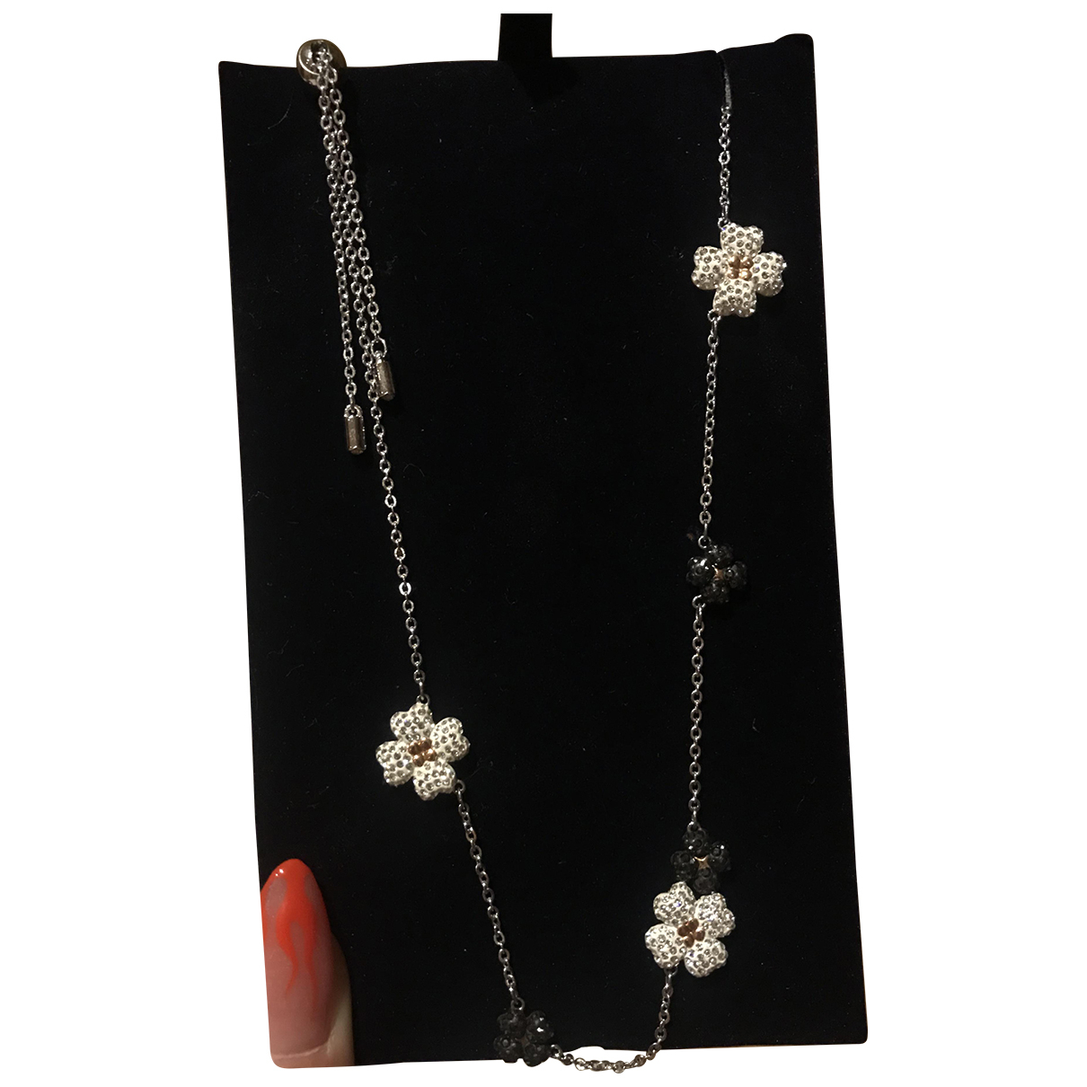 Swarovski - Collier   pour femme en cristal - blanc