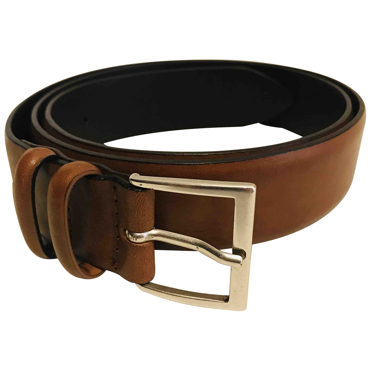 Orciani \N Brown Leather belt for Men 95 cm