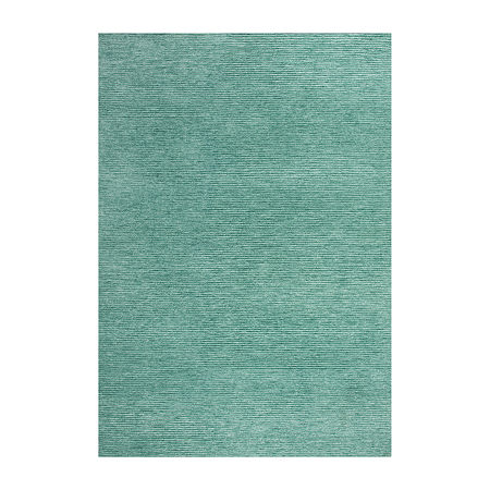 Rizzy Home Ziya Hand Tufted Rectangular Indoor/Outdoor Rugs, One Size , Blue