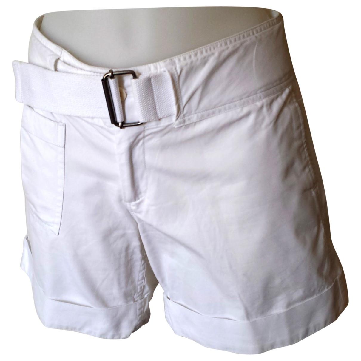 Ralph Lauren \N White Cotton Shorts for Women 4 0-5