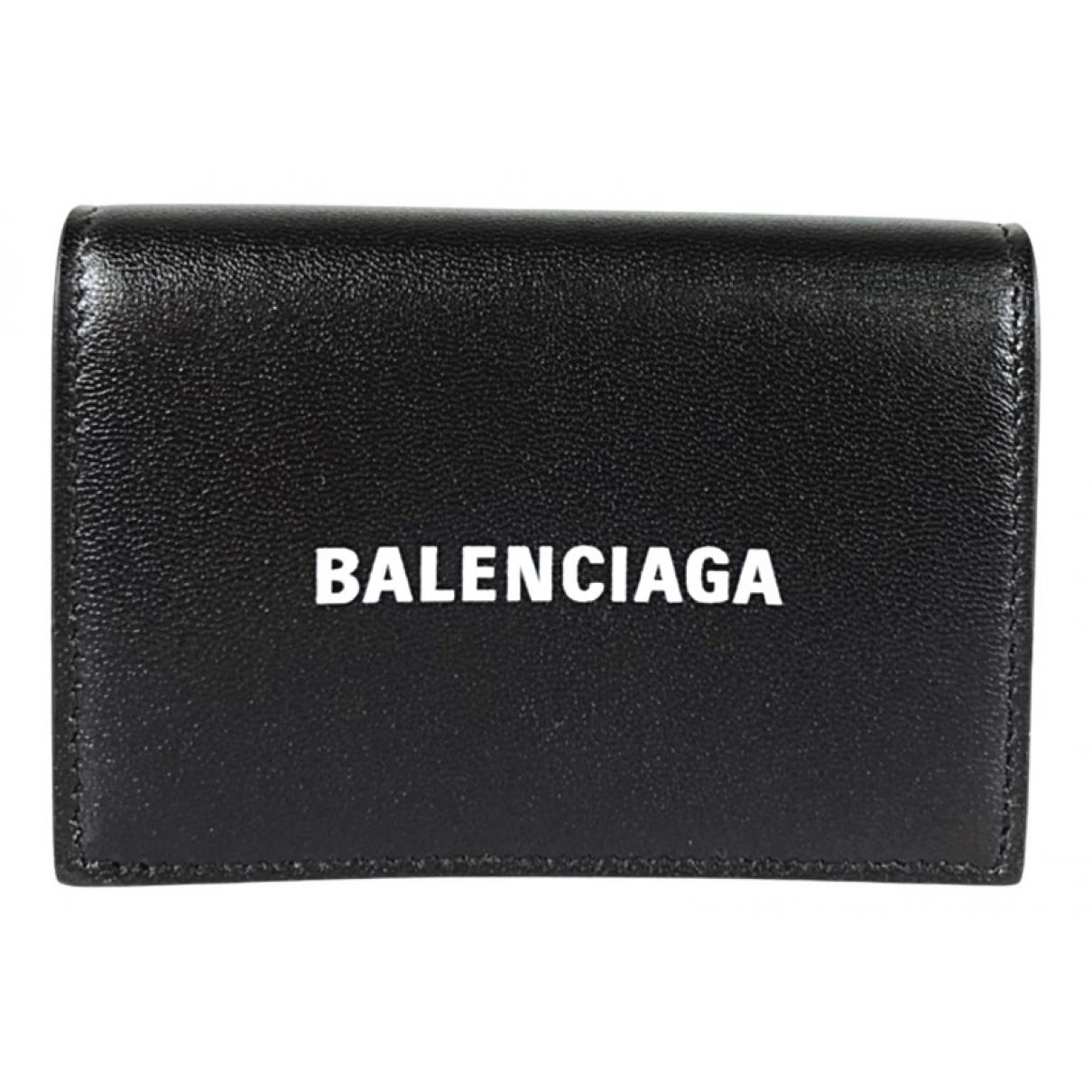 Balenciaga N Black Leather Purses, wallet & cases for Women N