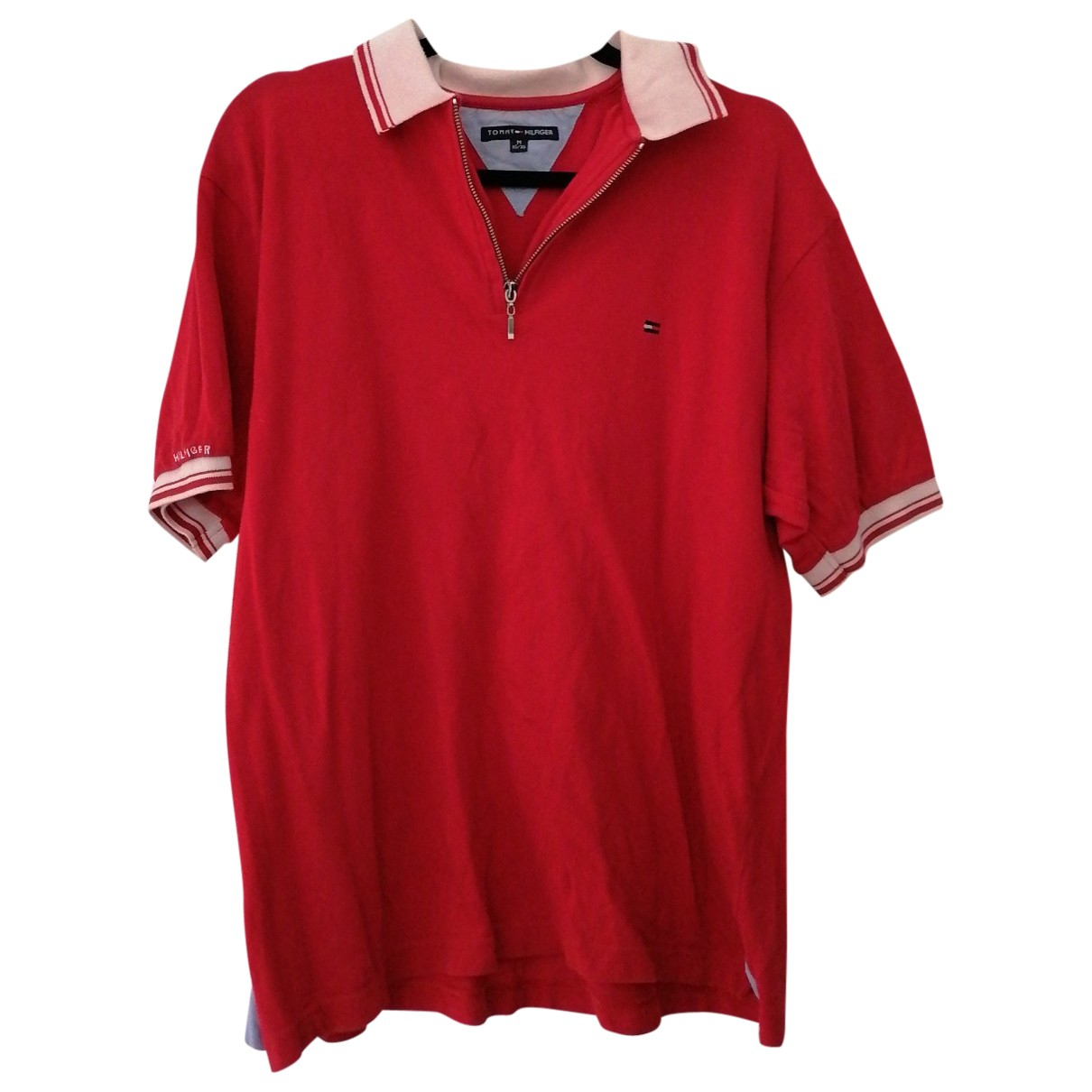 Tommy Hilfiger \N Poloshirts in  Rot Baumwolle