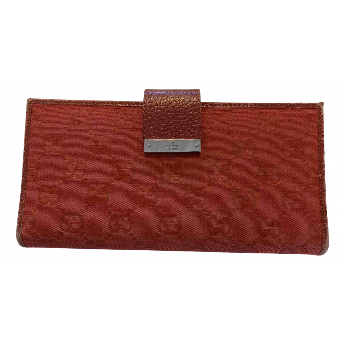 Gucci \N Red Cloth wallet for Women \N