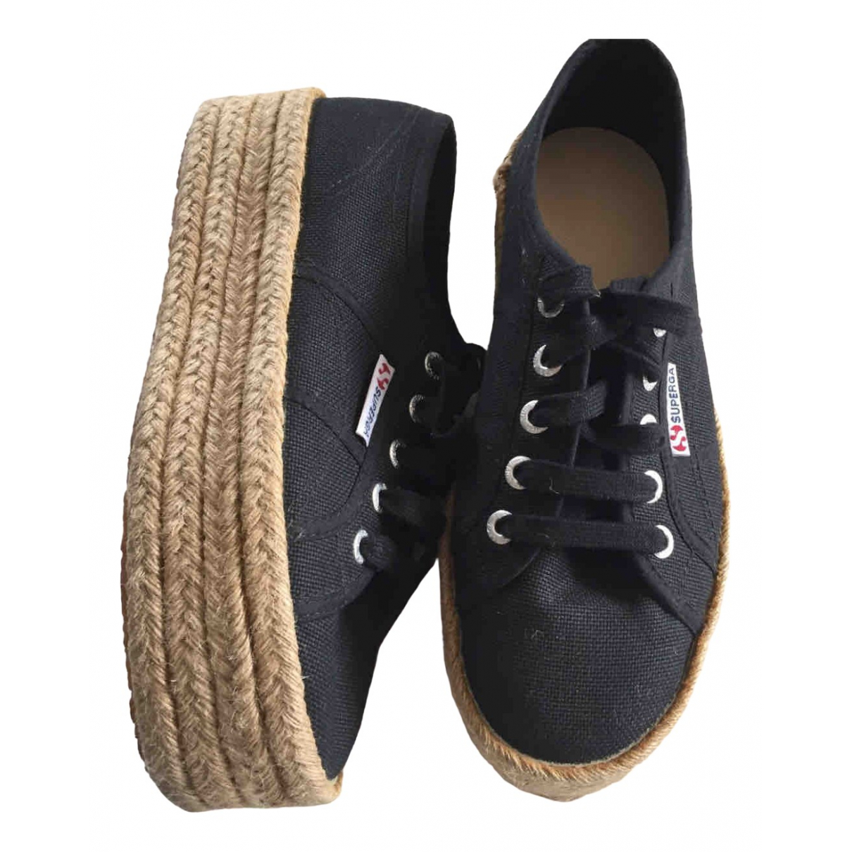 Superga \N Blue Cloth Espadrilles for Women 37 EU