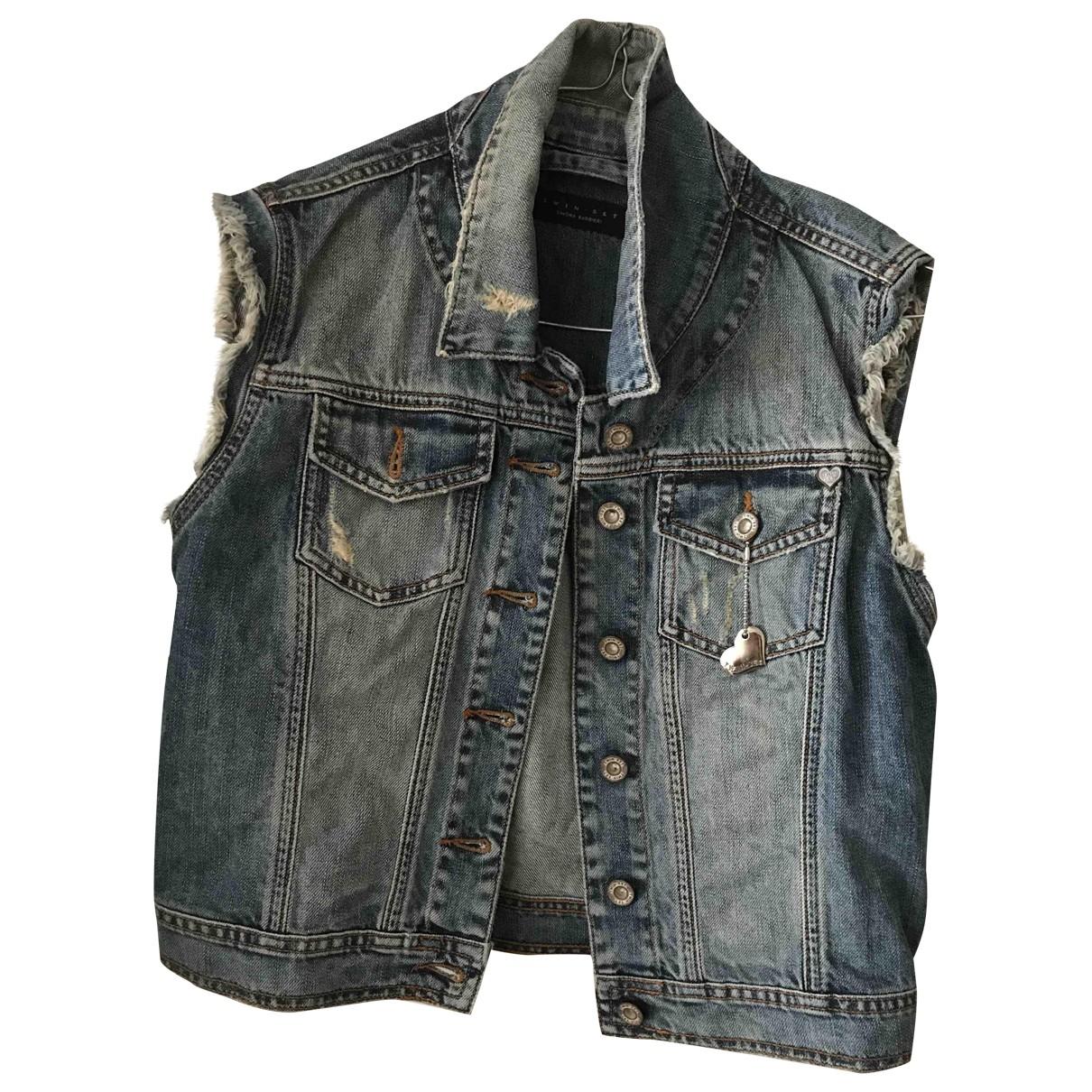 Twin Set \N Blue Denim - Jeans jacket for Women M