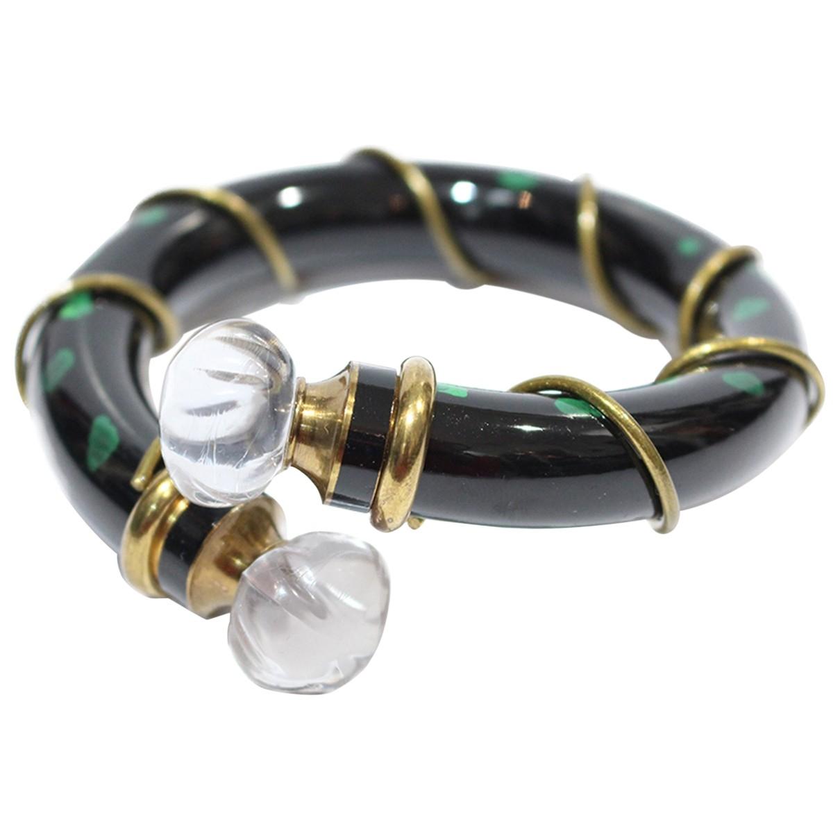 Dior \N Armband in  Gruen Glas