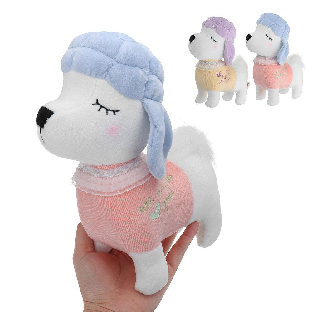 Poodle Dog Plush Toy Stuffed Cartoon Animal Doll For Baby Kids Birthday Gift