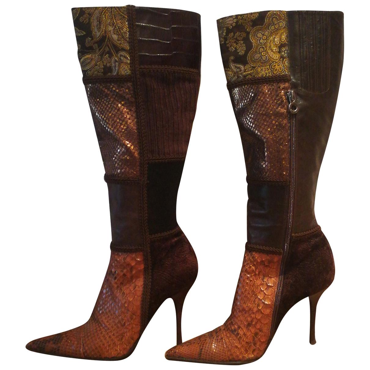 Le Silla \N Multicolour Leather Boots for Women 38 EU