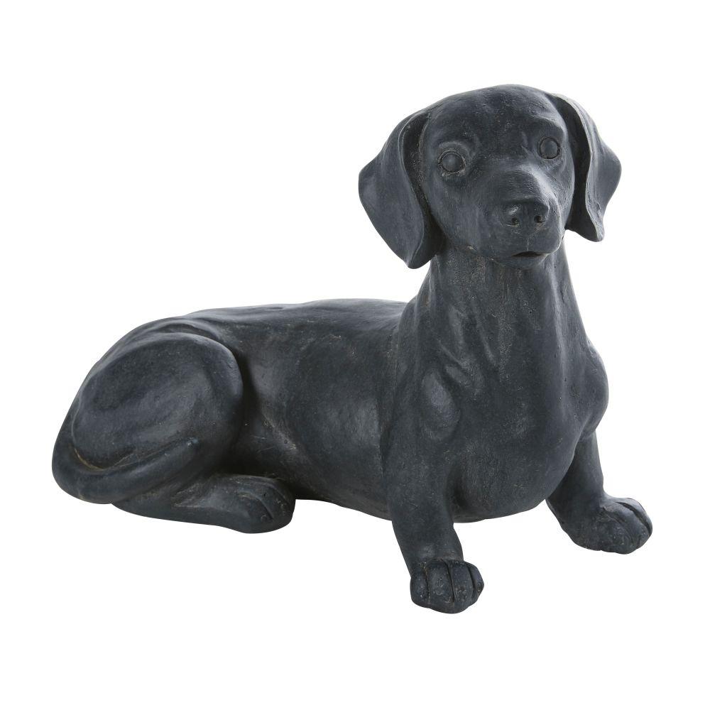 Hund, anthrazitgrau L36