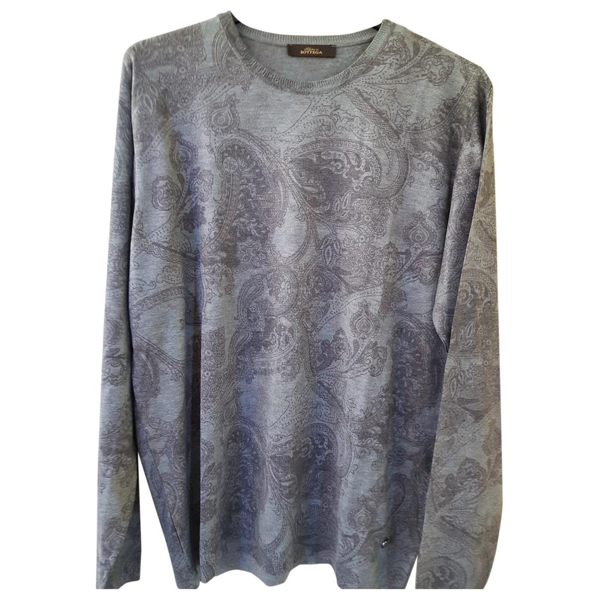 Bottega Veneta \N Pullover.Westen.Sweatshirts  in  Grau Wolle