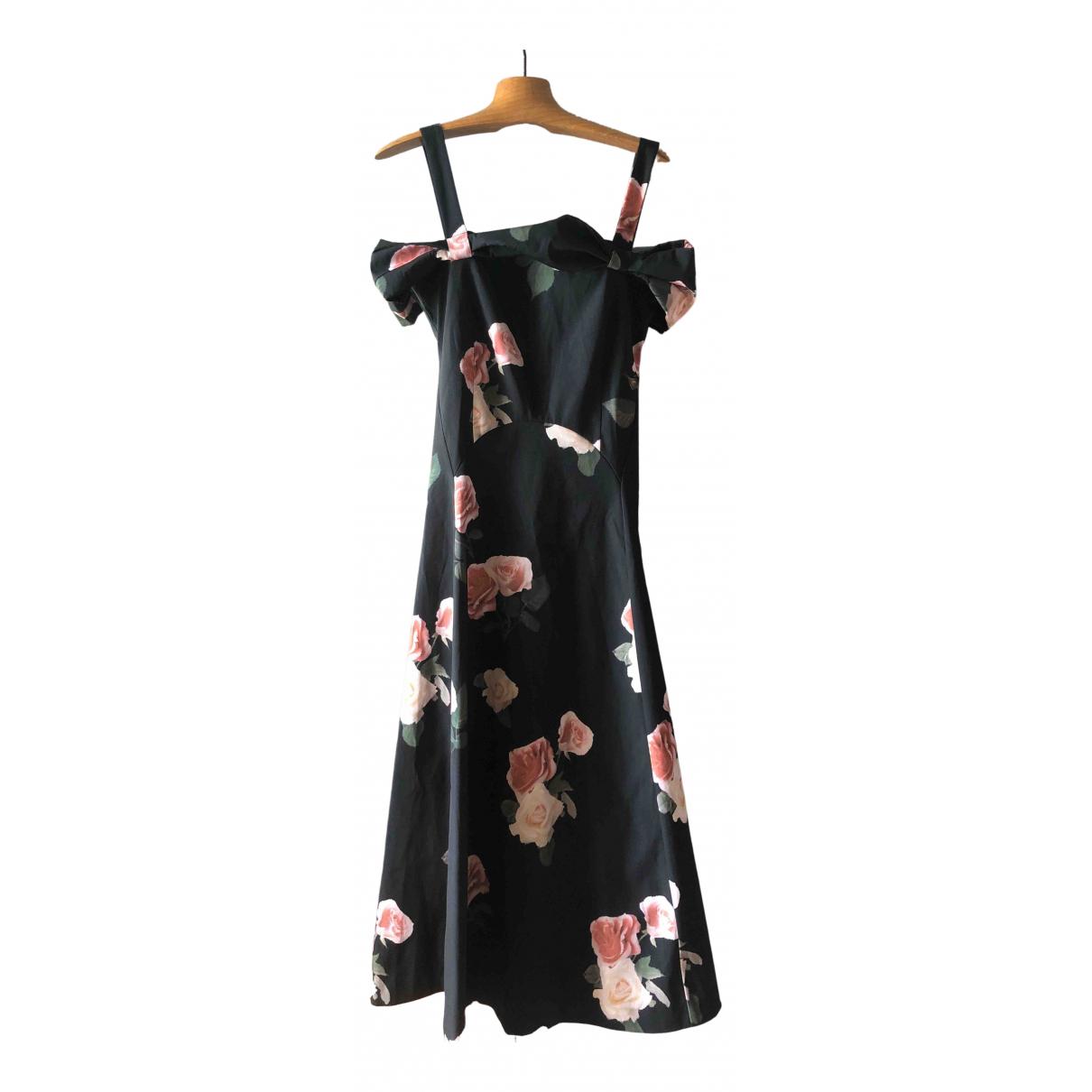 Rejina Pyo \N Kleid in  Schwarz Polyester