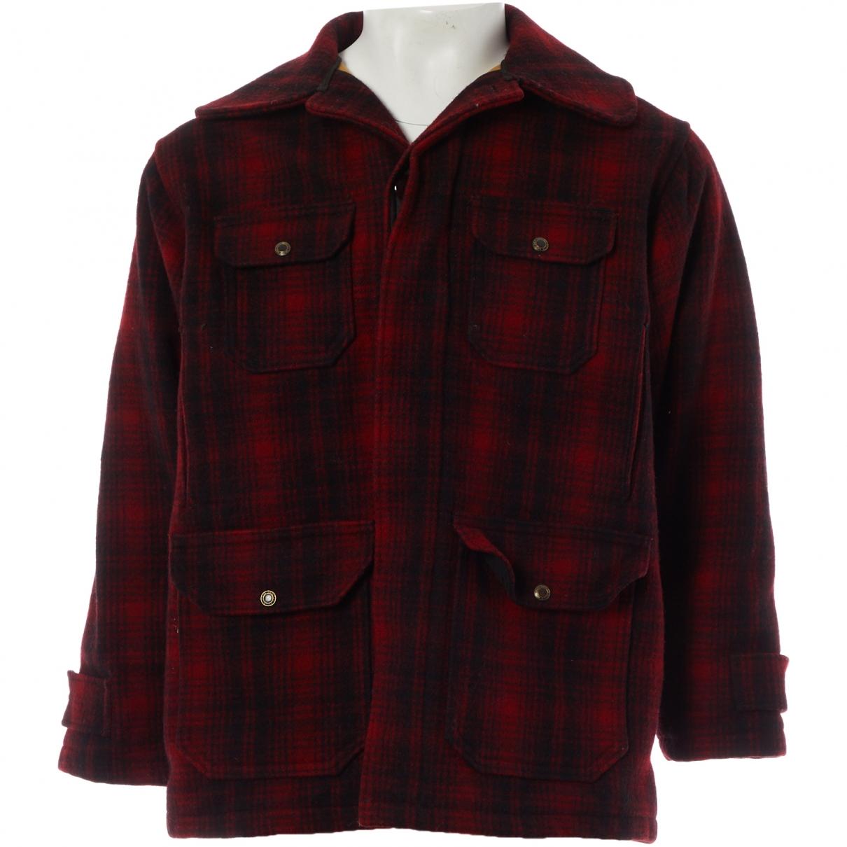 Woolrich \N Jacke in  Rot Wolle