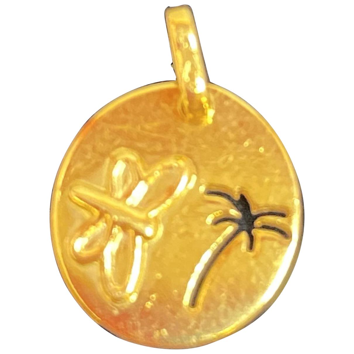 - Pendentif Motifs Animaliers pour femme en or jaune - dore