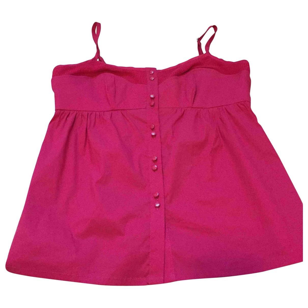 Tara Jarmon - Top   pour femme en coton - rose