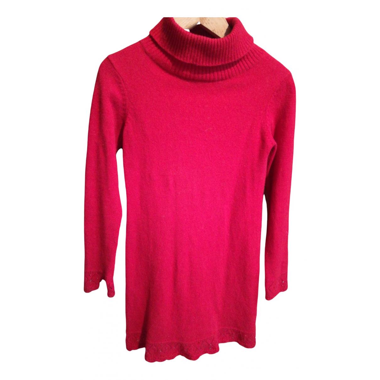 Blumarine \N Kleid in  Rot Kaschmir