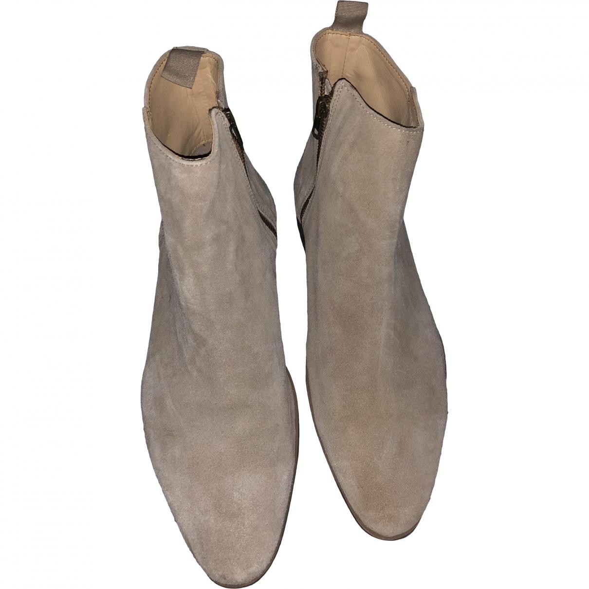 Asos \N Beige Suede Boots for Men 43 EU