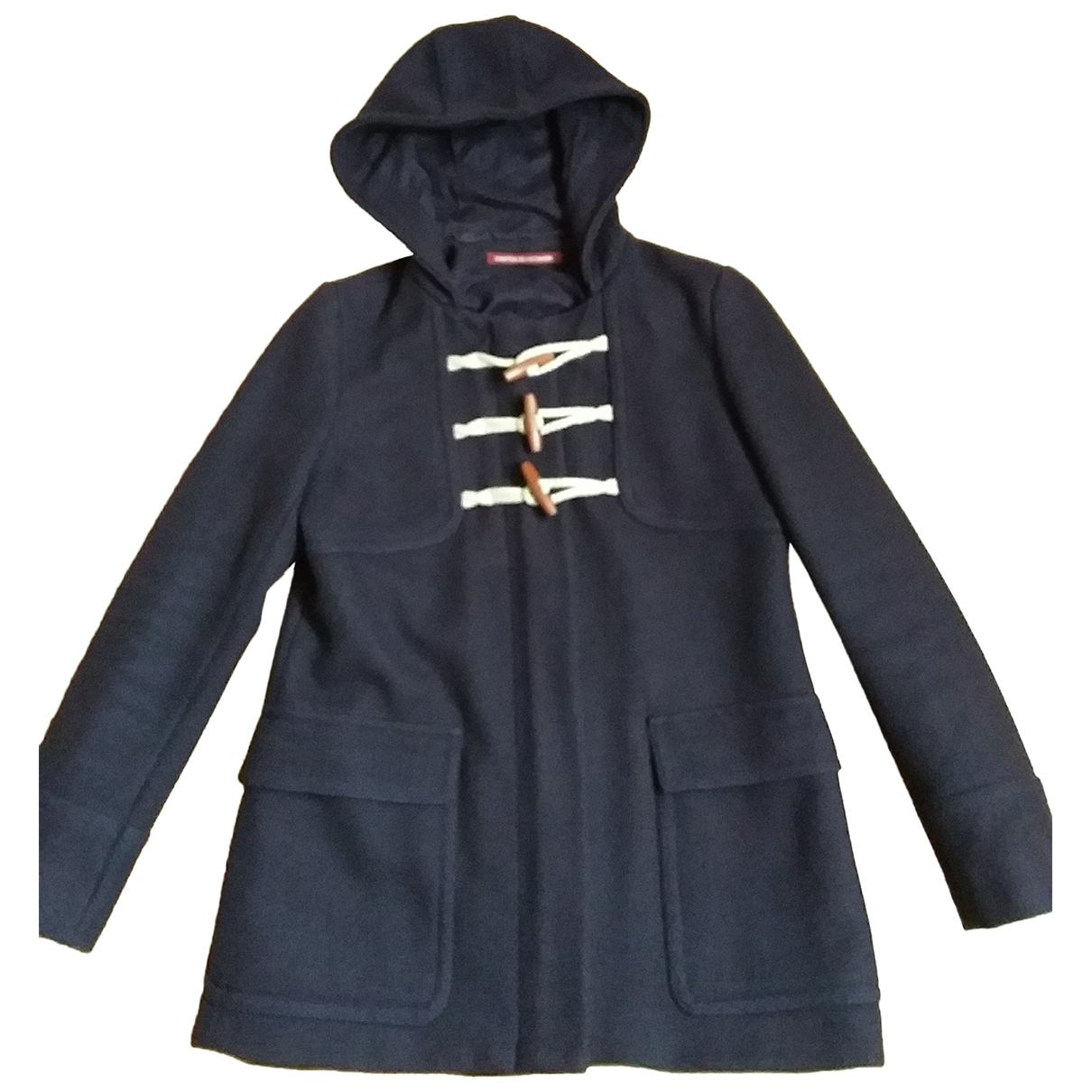 Comptoir Des Cotonniers \N Purple Wool coat for Women 34 FR