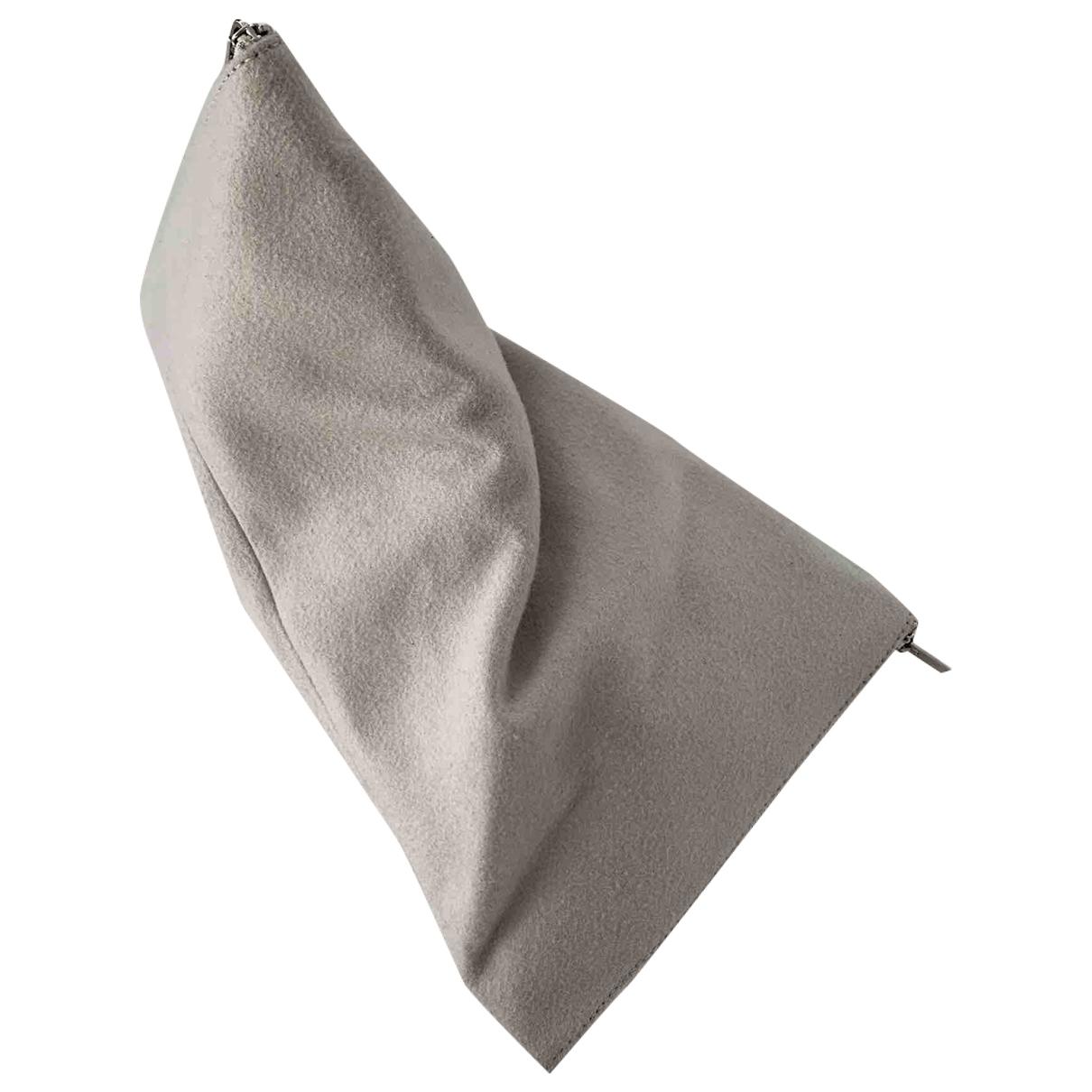Celine \N Ecru Wool Clutch bag for Women \N