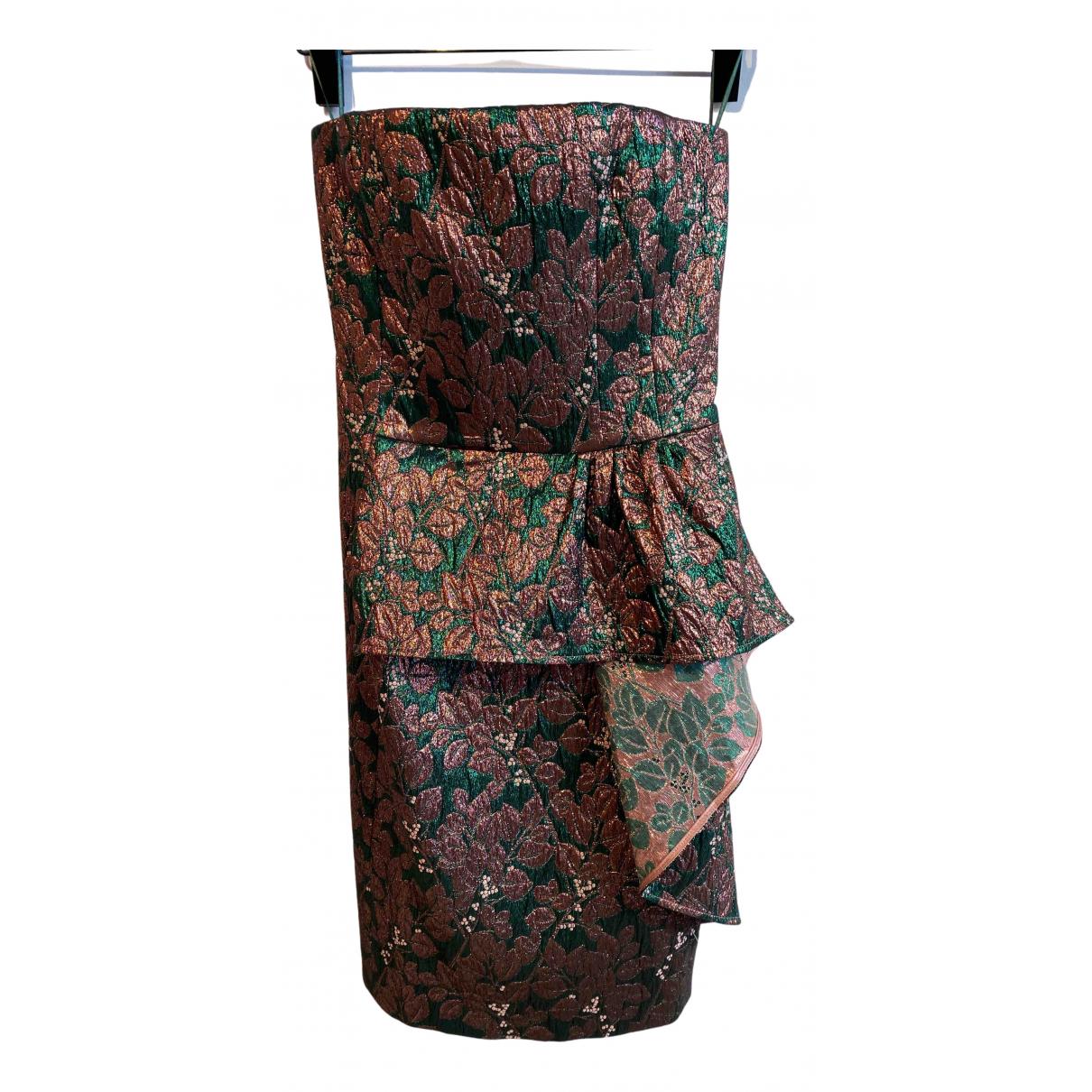 Tara Jarmon \N Kleid in  Metallic Polyester