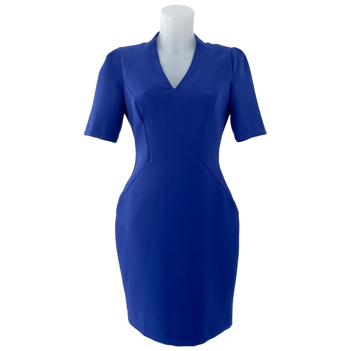 Reiss \N Kleid in  Blau Polyester