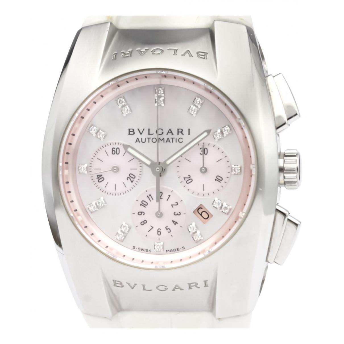 Bvlgari Ergon Pink Steel watch for Men N