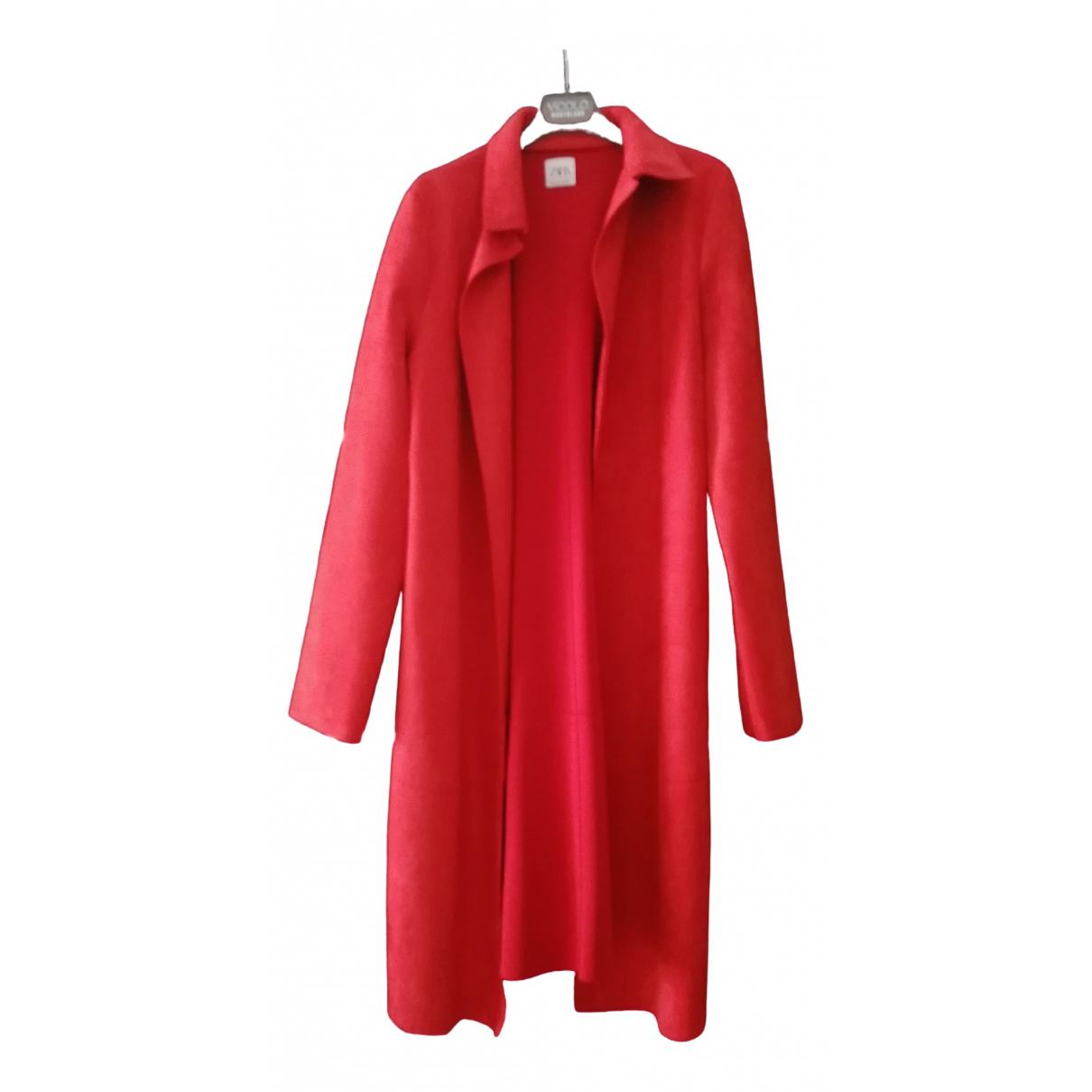 Zara \N Red coat for Women S International