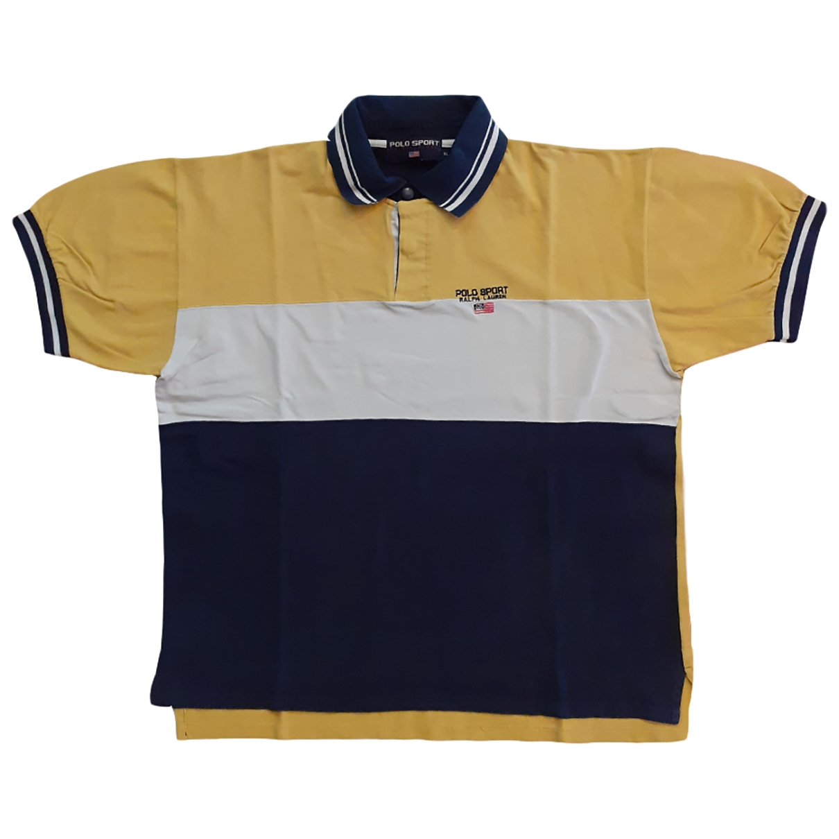 Polo Ralph Lauren \N Yellow Cotton Polo shirts for Men XL International