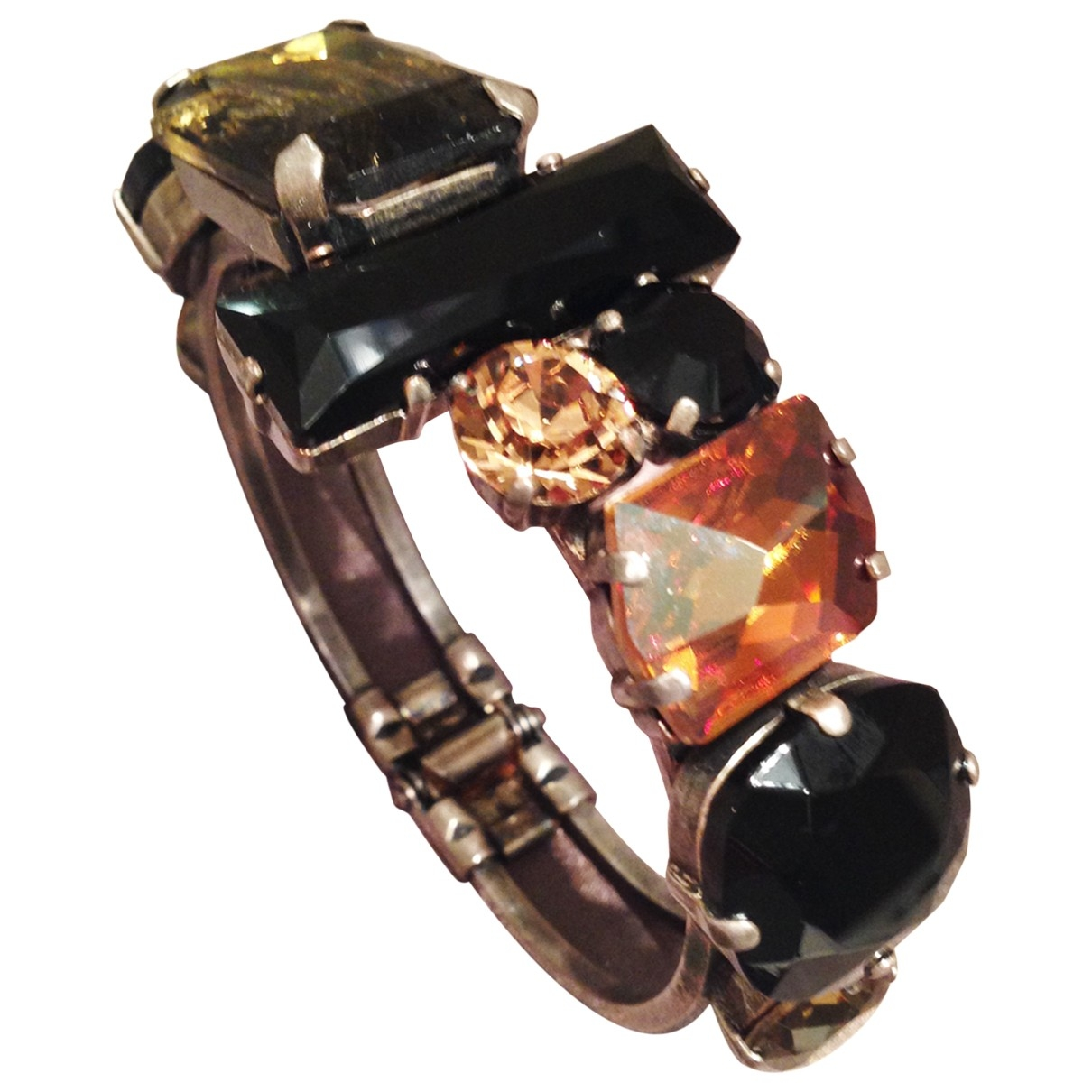 Non Signé / Unsigned \N Crystal bracelet for Women \N