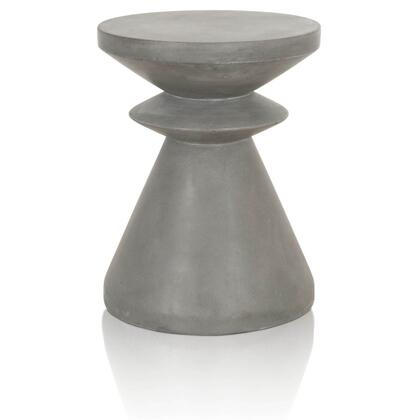 4612.SLA-GRY Pawn Collection 4612.Sla-Gry End Table In Slate Grey