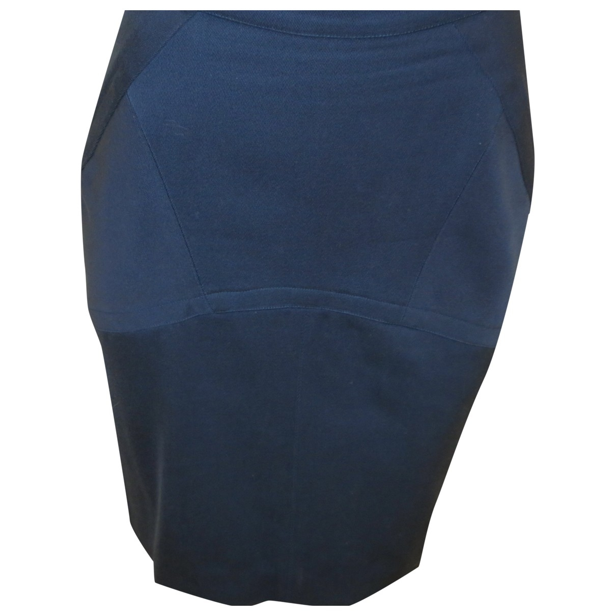 Alaia \N Rocke in  Blau Wolle