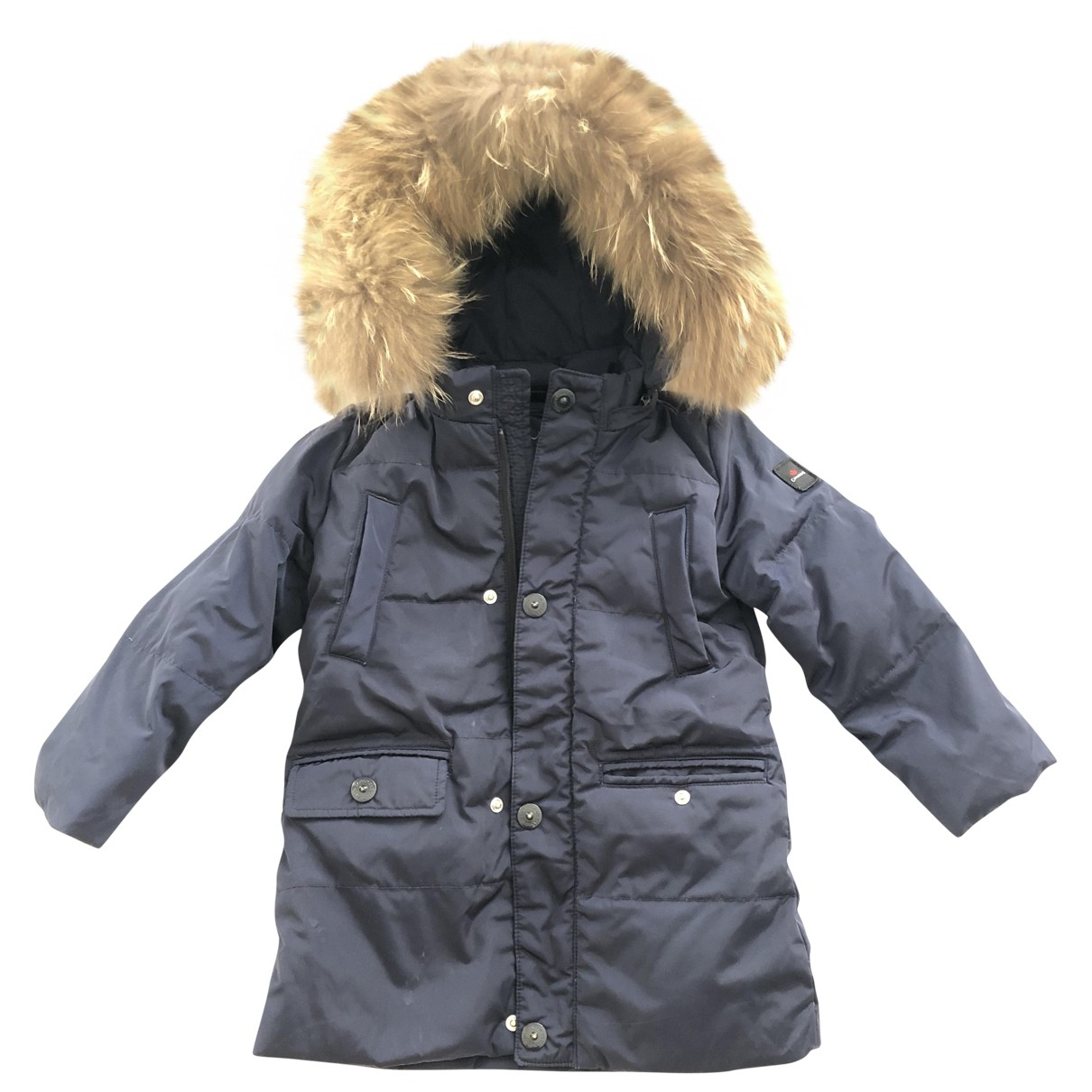 Canadian Trail Imported By Museum \N Jacke, Maentel in  Blau Polyester