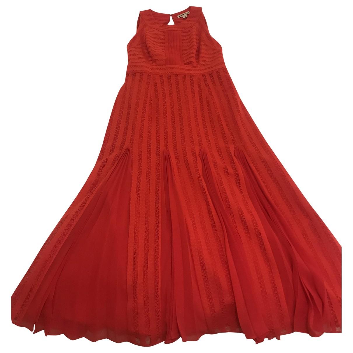 Whistles \N Kleid in  Rot Viskose