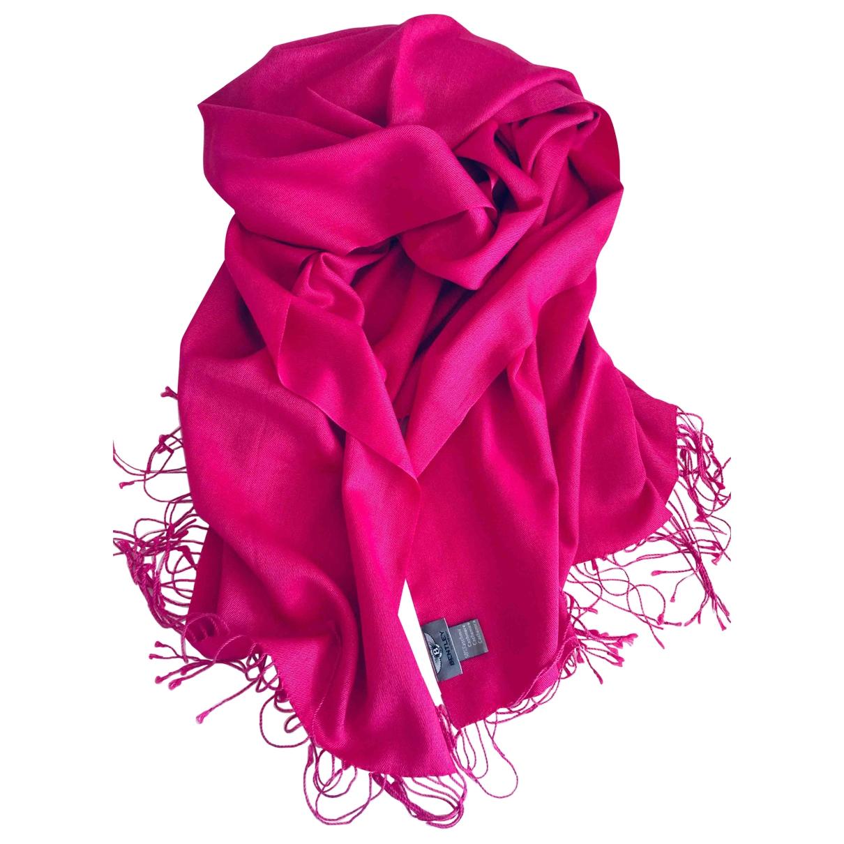 Bentley - Foulard   pour femme en cachemire - rose