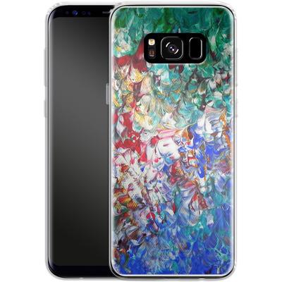 Samsung Galaxy S8 Silikon Handyhuelle - Macro 10 von Gela Behrmann