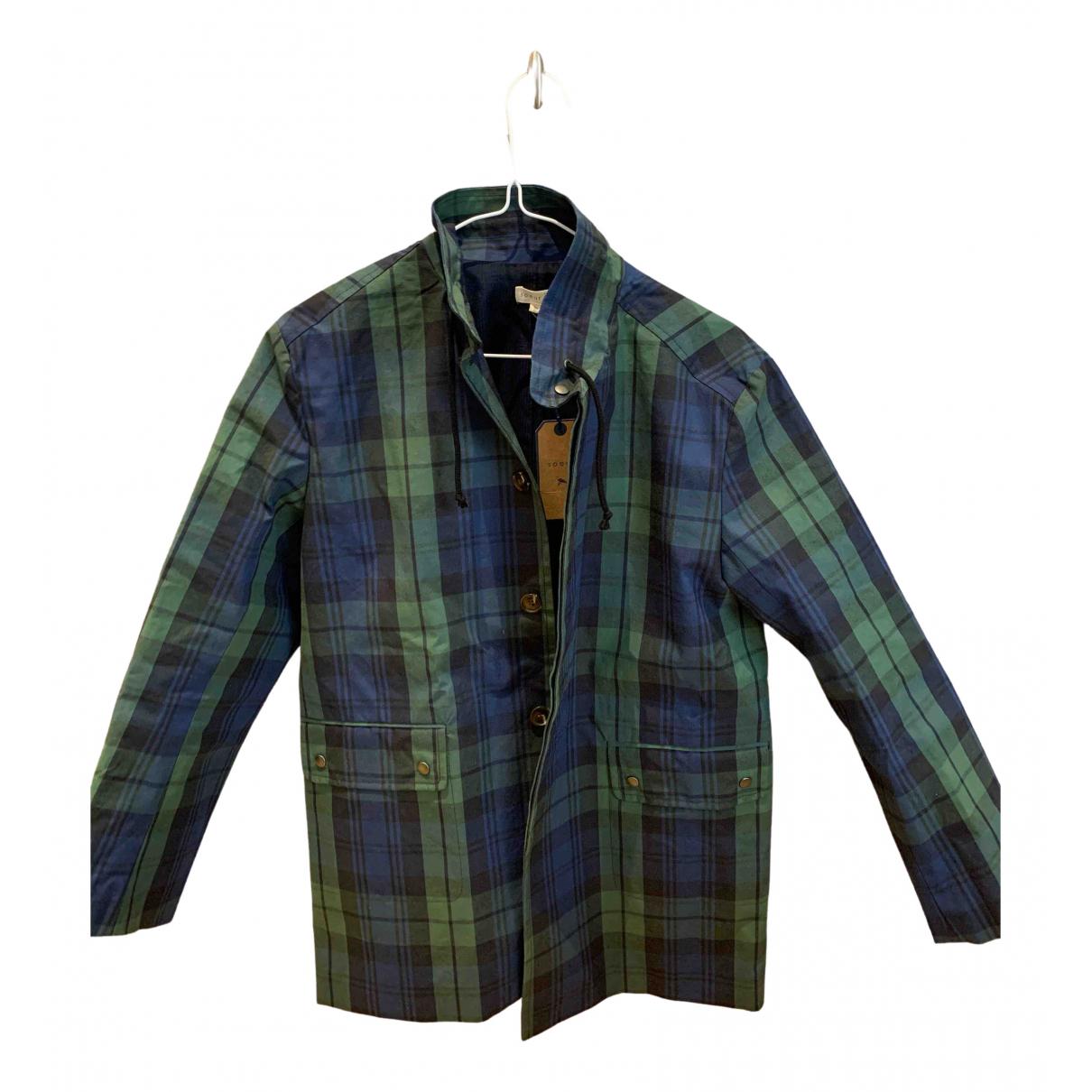 Soeur \N Blue Cotton coat for Women 36 FR