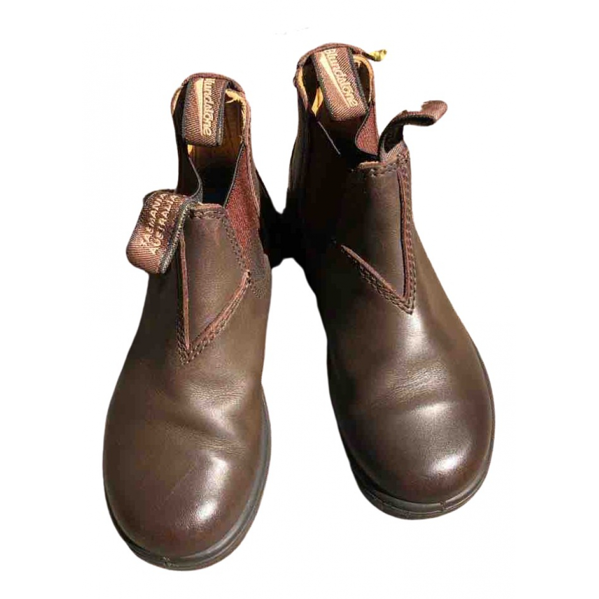 Blundstone \N Brown Leather Boots for Kids 29 FR