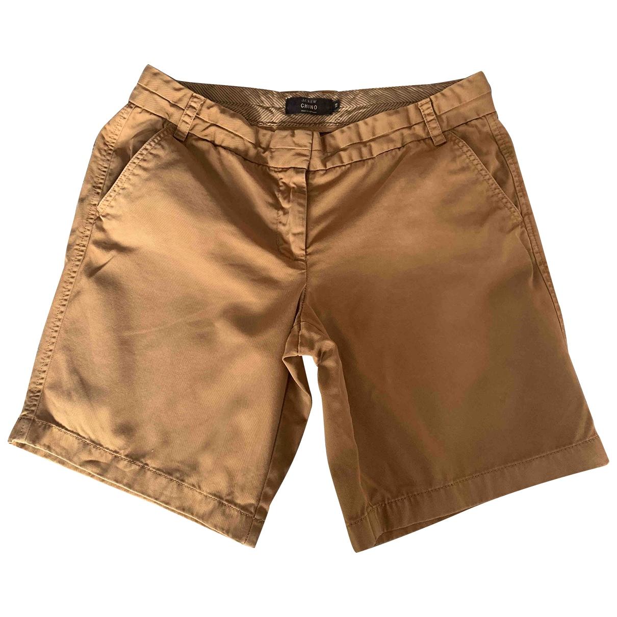 J.crew \N Camel Cotton Shorts for Women 10 US