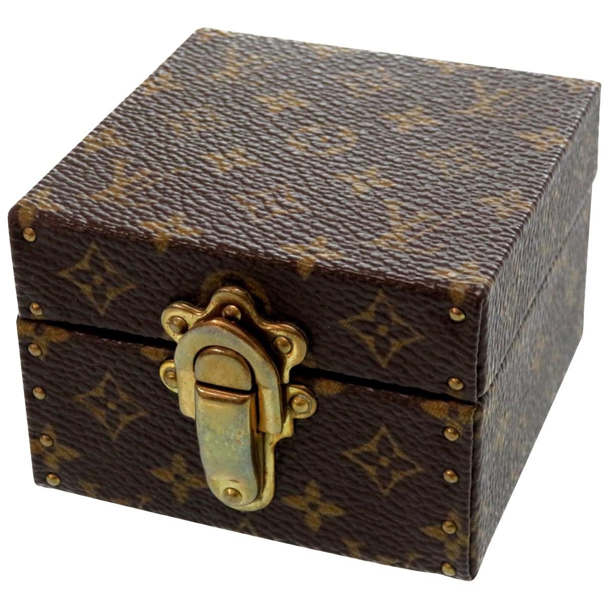 Objeto de decoracion Boite a bijoux de Lona Louis Vuitton